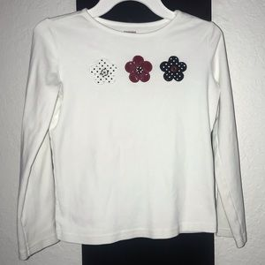 Gymboree Girl Top with long sleeves